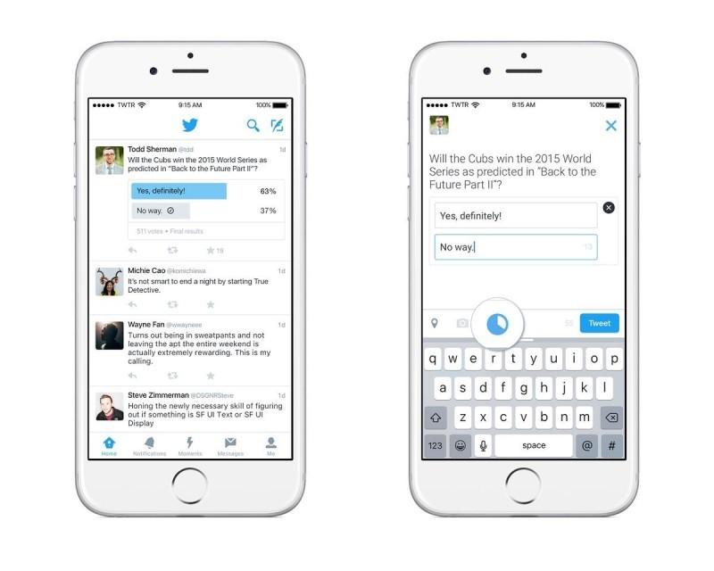 Twitter Anket Özelliği - Mobil