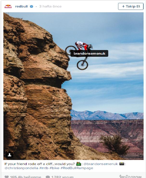 Redbull neden en fazla Instagram'a önem veriyor ?
